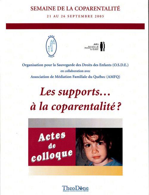 Colloque sur l'Enfant – Les support à la coparentalité?